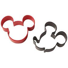 Wilton Disney Metal MICKEY MOUSE COOKIE CUTTER SET 2 Pc. Cutters Party Theme