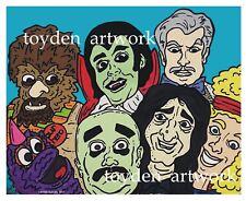 Hilarious House of Frightenstein poster print 11x14 Retro TV show