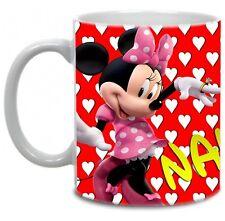 Disney Minnie Mouse Personalised Name & Photo Gift 11oz Mug
