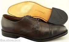 Men's ALLEN EDMONDS 'Clifton' Dark Brown Cap Toe Leather Oxfords Size US 10 - D