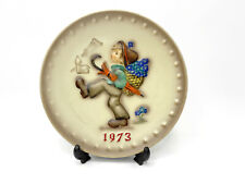 1973 Hummel Goebel 3rd Annual Porcelain Hand Painted Plate 1972 West Germany