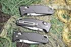 Defect Sanrenmu LB-763 Pocket EDC Folding Knife Axis Lock Aluminum Handle