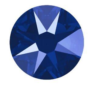 ROYAL BLUE Lacquer 20ss 5mm 144 pcs Swarovski Crystal Flatback Rhinestones 2088
