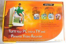 AVerTV Desktop TV PVR, Personal Video Recorder New in Opened Box