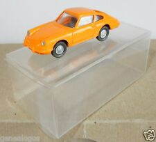 MICRO WIKING HO 1/87 PORSCHE 911 ORANGE in box