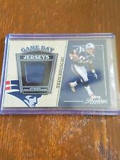 Tedy Bruschi 2004 Playoff Prestige Game Day Jersey #GJ-34 Patriots