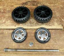 Vintage Tonka Fire Truck Cement Truck Axle Assembly Tires Wheels 2950
