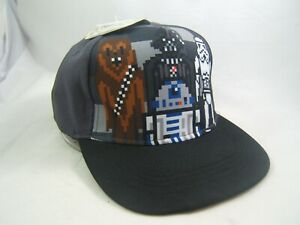 Star Wars Hat Small/Youth Black Snapback Baseball Cap w/ Tag