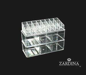 Clear Acrylic Make Up Organiser Storage Box (A8)