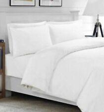 2 x EX HOTEL PILLOW CASES PLUS 2 FREE, WHITE, READY TO USE