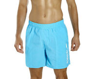 """SPEEDO MENS WATER SHORTS.NEW SCOPE 16"""" BLUE QUICK DRY TRUNKS SWIMMERS 7W 2052"""