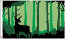 Woodland Deer 5'x3' Flag