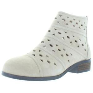 Array Womens Portland Tan Suede Ankle Booties Shoes 12 Medium (B,M) BHFO 4854