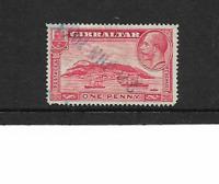 1931 Gibraltar - KGV. - The Rock of Gibraltar - Single Stamp - Used.