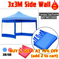 Adventure Kings Gazebo Side Wall 3x3m Waterproof Camping Outdoor Tent Marquee