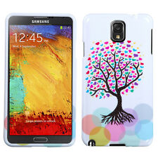 For Samsung Galaxy Note 3 HARD Protector Case Snap On Phone Cover Love Tree