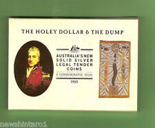 #C17.  1988 HOLEY DOLLAR & DUMP SILVER PROOF COINS