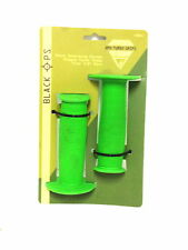 BMX FREESTYLE BIKE BICYCLE TURBO GRIPS LIME GREEN NEW