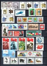 East-Germany/DDR/GDR: All stamps of 1985 in a year set complete, MNH