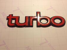 3x Saab 900 Turbo badge stickers, saab turbo bonnet badge resto decals