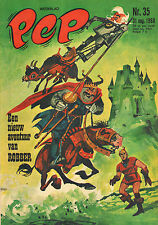 PEP 1968 nr. 35 - THE TYKES / COMICS / MOTIONS / ROBBER (COVER) / COMICS