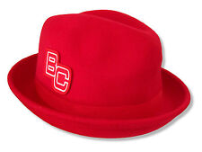 WWE Wrestling Bc Brodus Clay Red Fedora Hat New Official