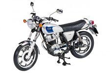 Schuco Yamaha SR500 1978 - 1999 1:10 zilver / blauw