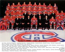 Montreal Canadiens 1996-97, 8x10 Color Team Photo