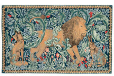 "William Morris The Forest Tapestry Wall Hanging 19"" x 33"" Made in England"