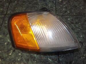 OEM 92-95 USDM Toyota Paseo L40 front right corner light lens lamp 16-109 R FR