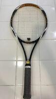 "Wilson K Factor - K Blade Team Tennis Racquet 4 5/8"" Grip-104 sq. in., 10.2 oz."