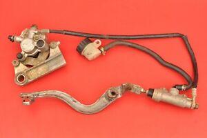 1993 - 2001 Yamaha YZ80 YZ 80 Rear Brake System Caliper Master Cylinder