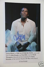 Josha Henry ( The Scottsboro Boys )20x30cm Bild + Autogramm /Autograph in Person