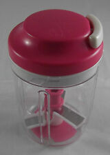 Tupperware D 169 Multichef Multi Chef 730 ml Pink Rosa / Klar Neu OVP