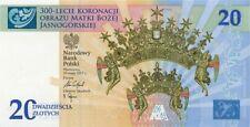 Poland / Polen 2017 - 20zl Coronation of the Image of Our Lady of Częstochowa