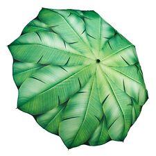 Banana paraguas plegable de estilo tropical-a prueba de viento Automático Paraguas fuerte.