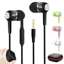 Super Bass In-Ear Kopfhörer Ohrhörer S12 Headset Earphone Headphone + Case