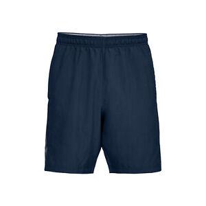 Under Armour Herren Woven Graphic Wordmark Shorts  Shorts blau NEU