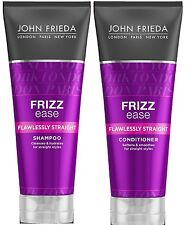JOHN FRIEDA Frizz Ease FLAWLESSLY STRAIGHT Shampoo & Conditioner 250ml each