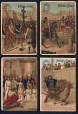 1890's Larue Tobacco Histoire de France Tobacco Cards Lot of 28