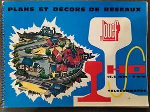 PLANS ET DECORS DE RESEAUX  JOUEF HO TRAIN ELECTRIQUE