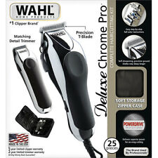 Wahl 79524520 Pro Hair Cut Kit Professional Barber Clipper Haircut Trimmer 25 Pc