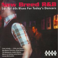 "NEW BREED R&B  ""SOULFUL 60's BLUES FOR TODAY'S DANCERS"" CD"