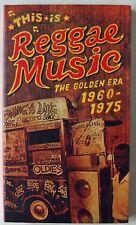 THIS IS REGGAE MUSIC / THE GOLDEN ERA 1960 - 75 / TROJAN 4 x CD SET / US IMPORT