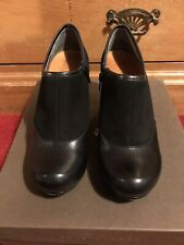 Chie Mihara 'Lotilda-Si' Black Suede & Leather Zipped Shoe-Boots UK 6/EU 39