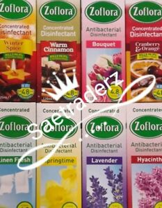 ZOFLORA CONCENTRATED ANTIBACTERIAL 120ML Disinfectant Kill 99.9% Germ & Odour UK