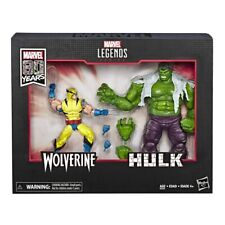 Hse6349 Marvel Legends 80th Anniversary Wolverine and Hulk Action Figures