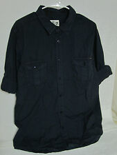 New Men's Seven7 Button Down Shirt Navy XL Hand Crafted, Expertly tailored fit.