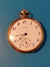 size Hunting Case Pocket Watch Antique Howard 17 Jewel 16