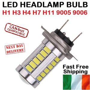 2X LED Bulbs H1 H3 H4 H7 H11 9005 9006 5630 Fog Light Lamp Bulb 6000K White